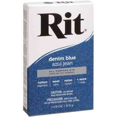 Rit Denim Blue 1-1/8 Oz. Powder Dye
