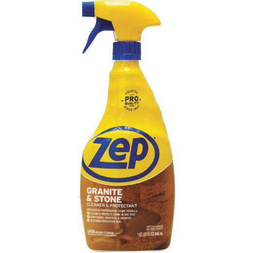 Zep 32 Oz. Granite & Stone Cleaner & Protectant