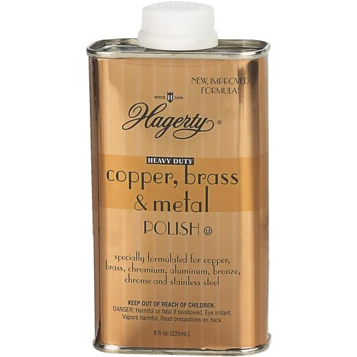 Hagerty 8 Oz. Heavy-Duty Copper, Brass And Metal Polish