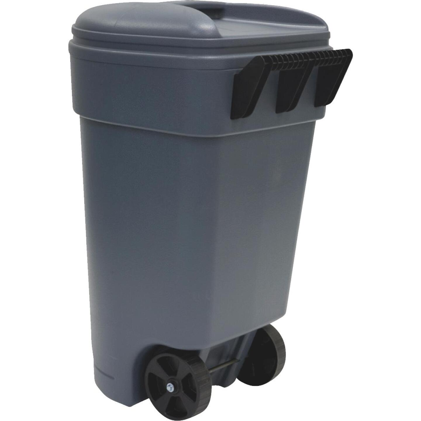 United Solutions Rough & Rugged 50 Gal. Wheeled Commercial Trash Can Image 1