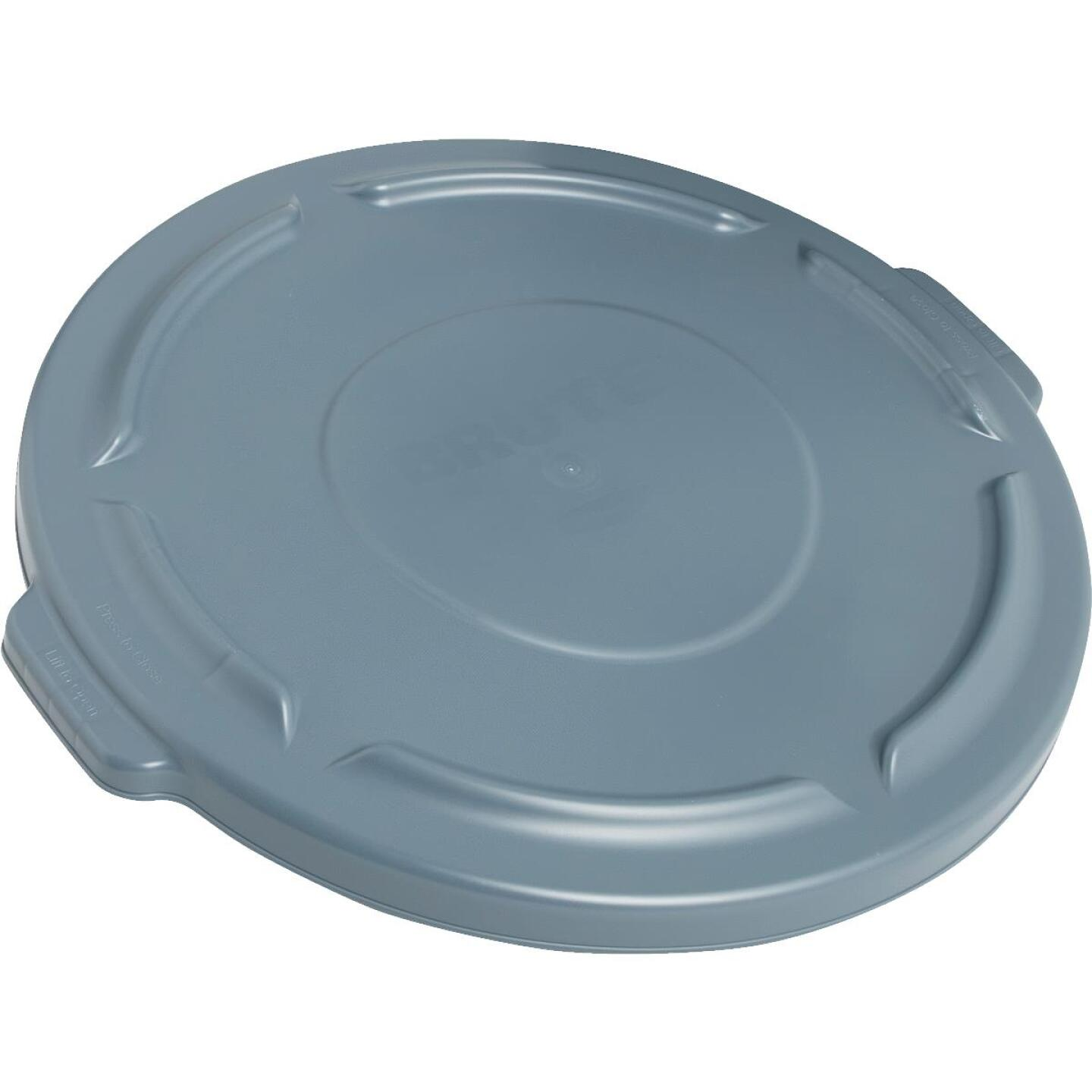 Rubbermaid Commercial Brute Gray Trash Can Lid for 32 Gal. Trash Can Image 1