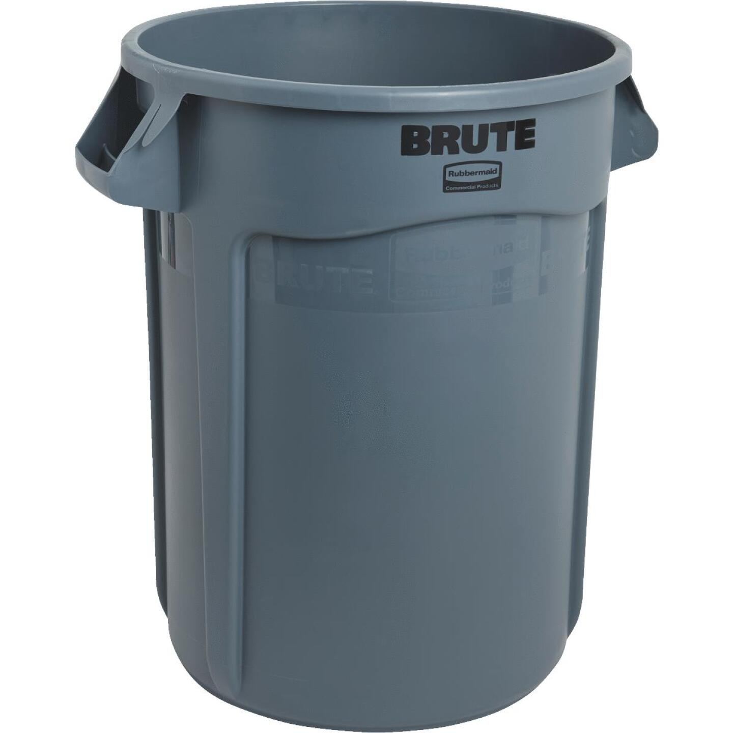 Rubbermaid Commercial Brute 32 Gal. Plastic Commercial Trash Can Image 1