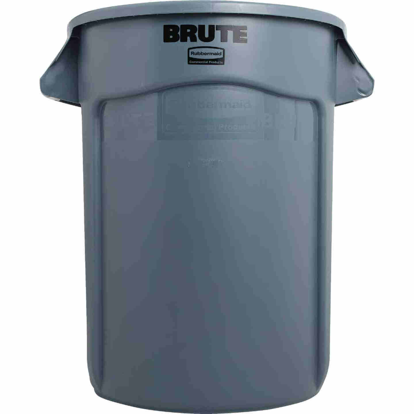 Rubbermaid Commercial Brute 32 Gal. Plastic Commercial Trash Can Image 2