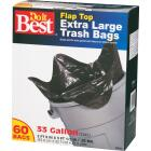 Do it Best 33 Gal. Extra Large Black Trash Bag (60-Count) Image 3