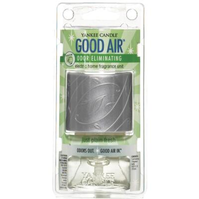 Yankee Candle Good Air Just Plain Fresh Starter Kit Plug In Air Freshener