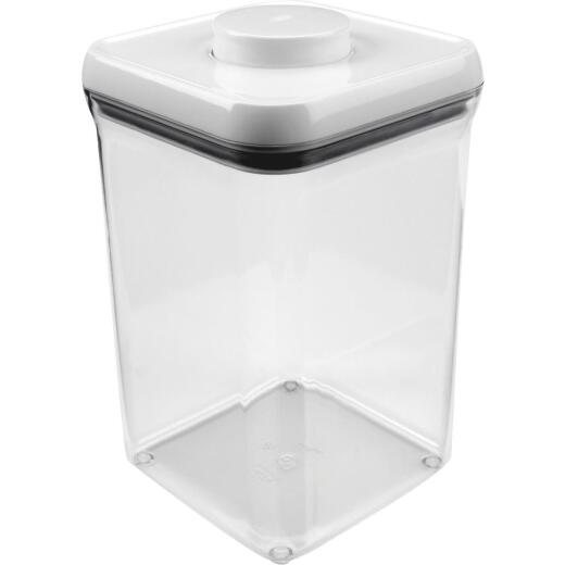 Oxo Good Grips 4 Qt. Clear Square Food Storage Container with Lid