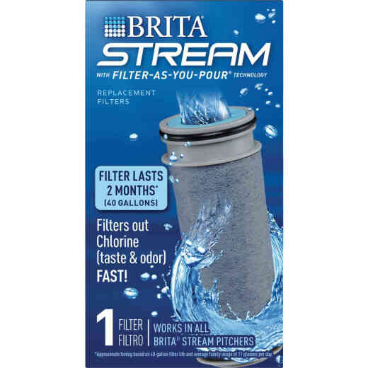 Brita Stream Pitcher Filter-As-You-Pour Filter