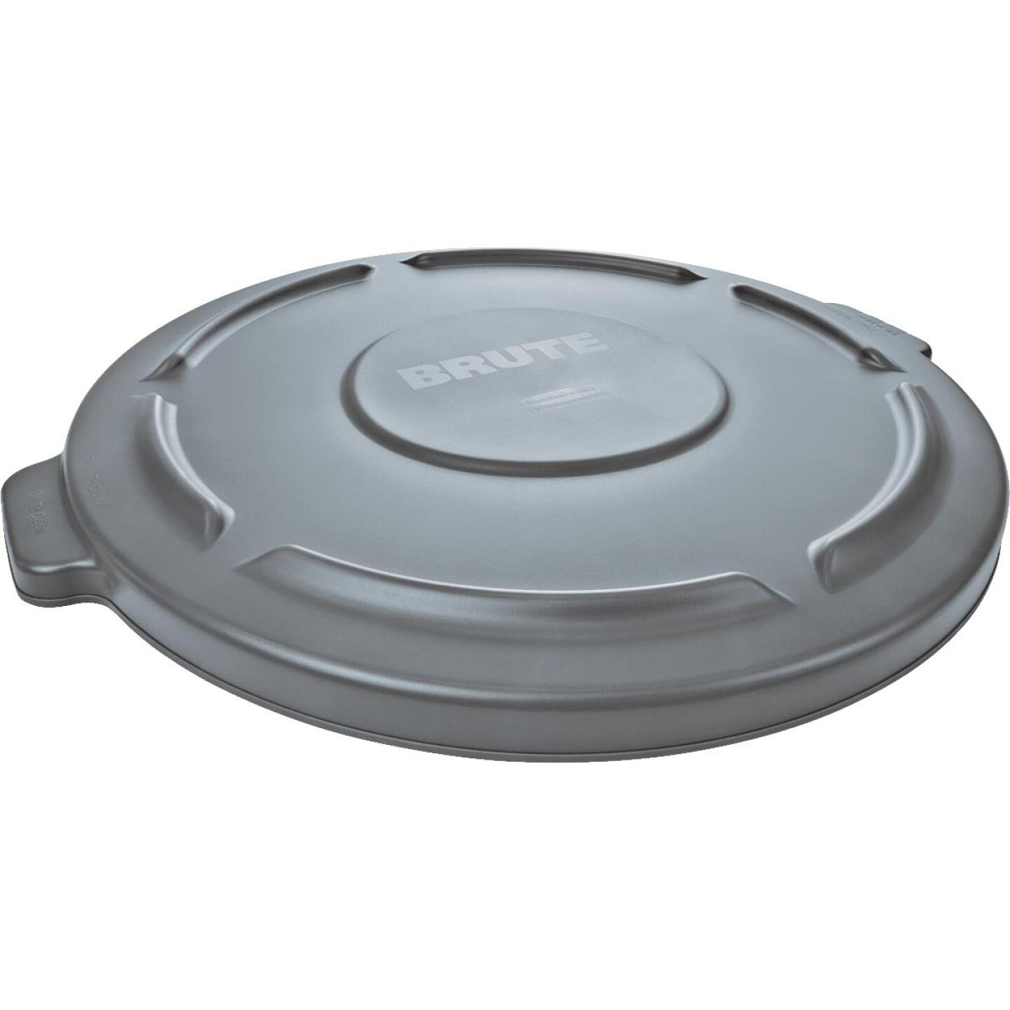 Rubbermaid Commercial Brute Gray Trash Can Lid for 20 Gal. Trash Can Image 1