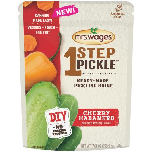 Mrs. Wages One Step Pickle Cherry Habanero Kosher Dill Pickling Mix