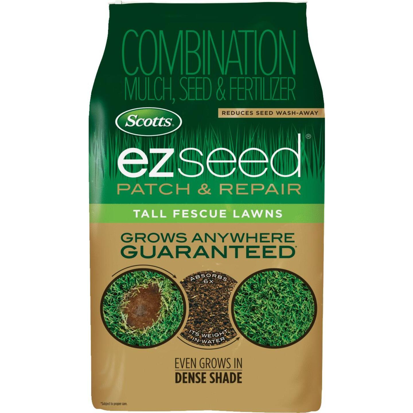 Scotts eZ Seed 20 Lb. 445 Sq. Ft. Coverage Tall Fescue Grass Patch & Repair Image 1