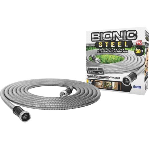Bionic Steel 5/8 In. Dia. x 50 Ft. L. Garden Hose