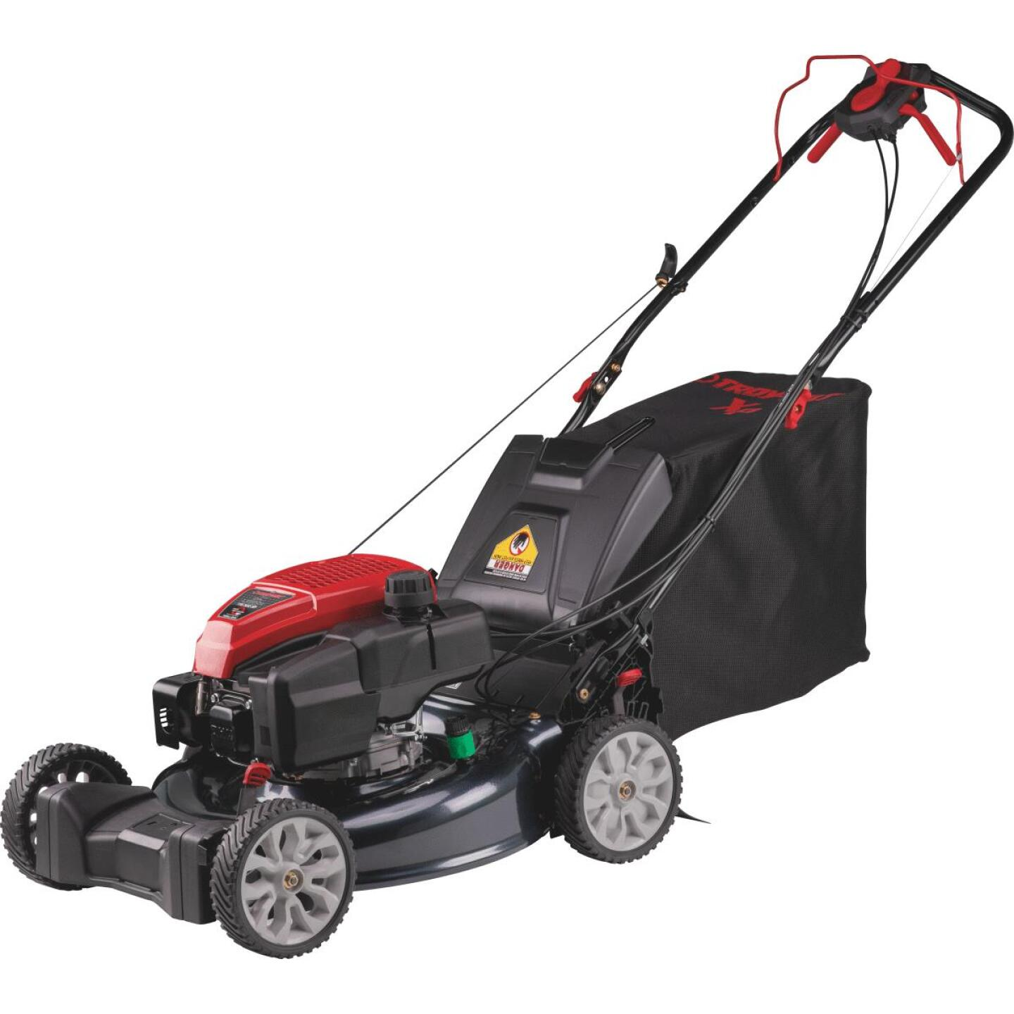 Troy-Bilt 21 In. 159cc OHV Briggs & Stratton Rear Wheel Drive Self-Propelled Gas Lawn Mower Image 1