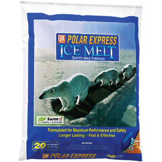 Qik Joe Polar Express 20 Lb. Ice Melt Pellets