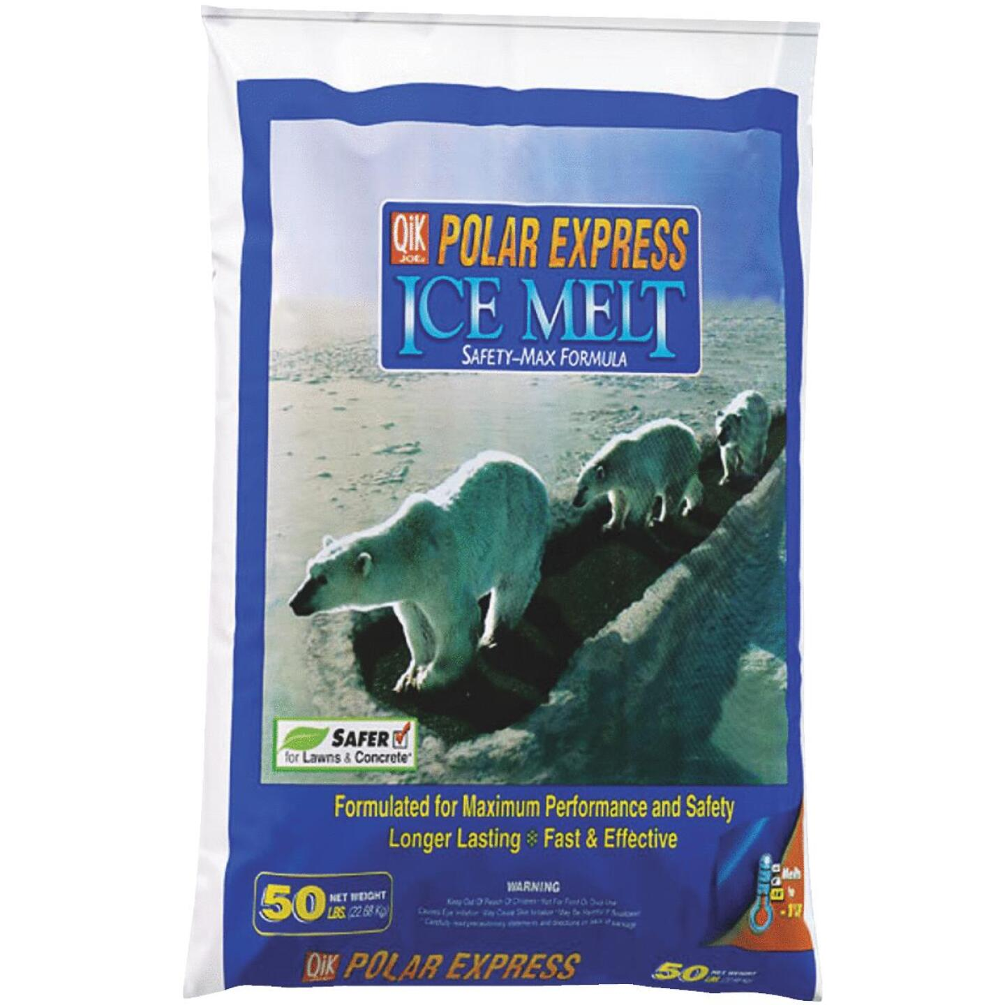 Qik Joe Polar Express 50 Lb. Ice Melt Pellets Image 1