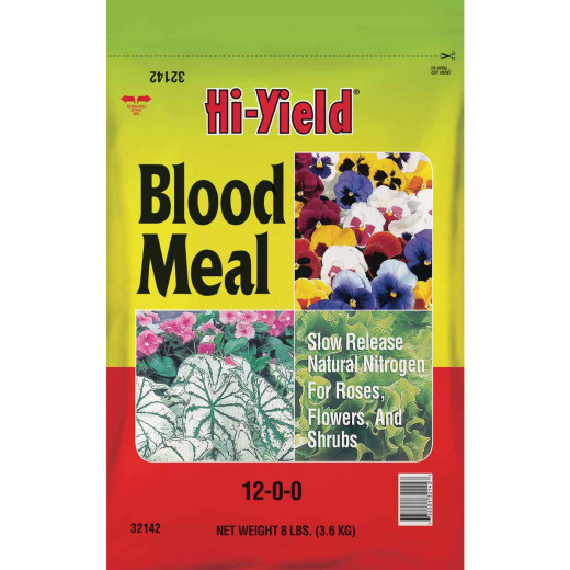 Hi-Yield 8 Lb. 12-0-0 Blood Meal
