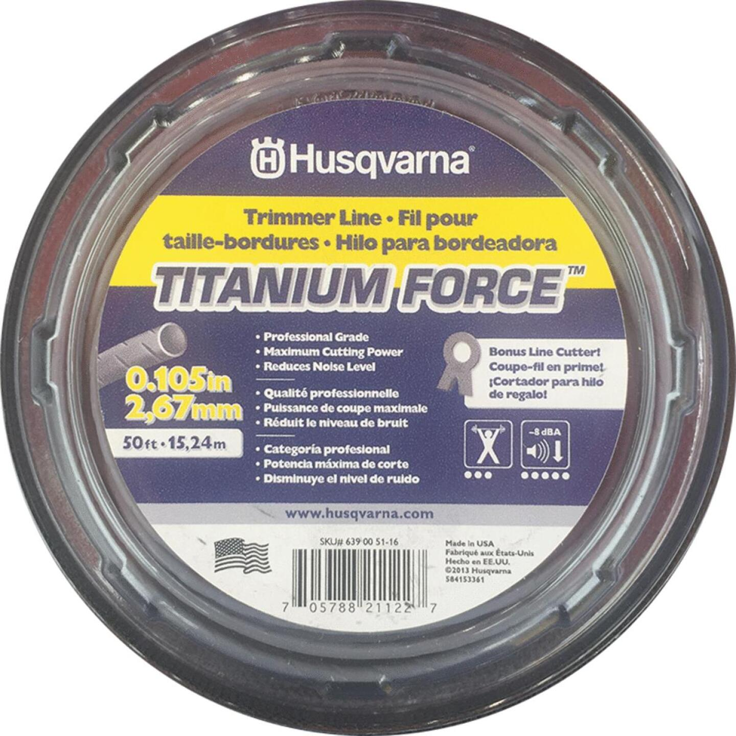 Husqvarna Titanium Force 0.105 In. x 50 Ft. Trimmer Line Image 1