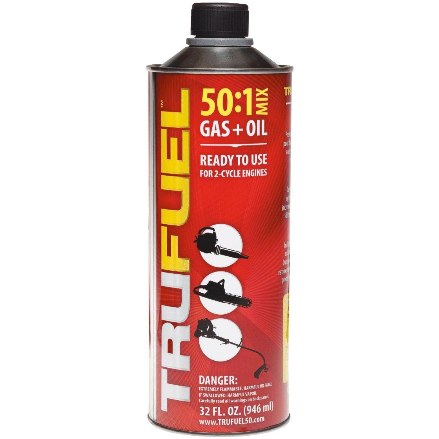 TruFuel 32 Oz. 50:1 Ethanol-Free Small Engine Fuel & Oil Pre-Mix Image 1