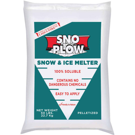Sno Plow 50 Lb. Ice Melt Pellets