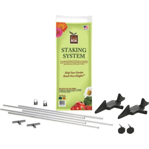 EarthBOX 60 In. Green Aluminum Plant Stake Staking System