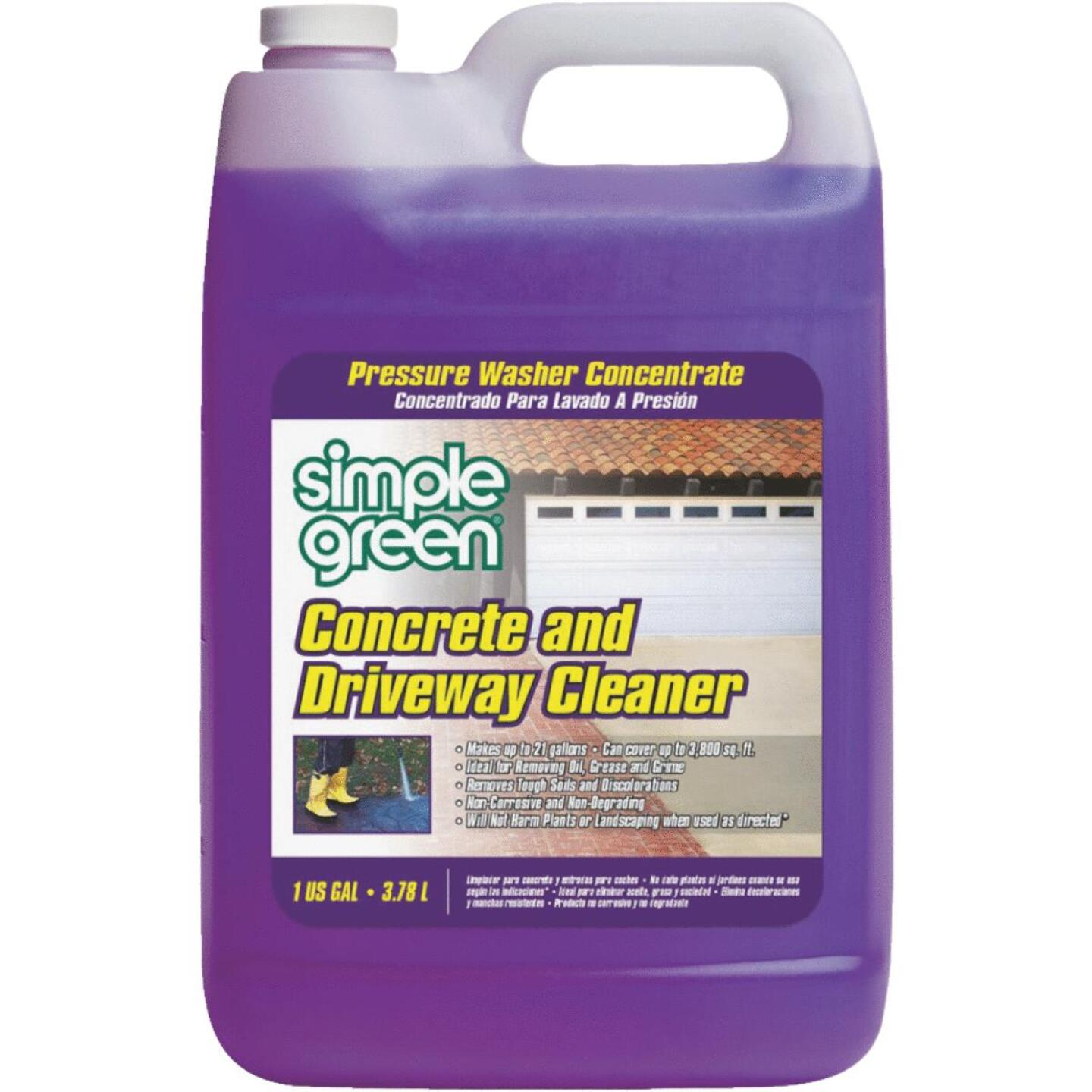 Simple Green Concrete & Driveway Pressure Washer Concentrate Cleaner Image 1