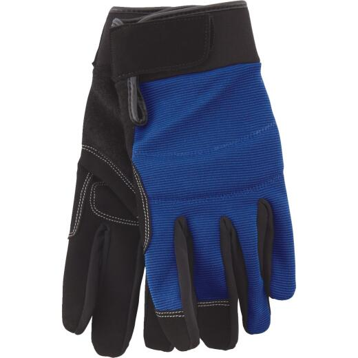 Do it Men's Medium Polyester Spandex High Performance Glove with Hook & Loop Cuff