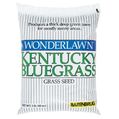 Wonderlawn 3 Lb. 1500 Sq. Ft. Coverage Kentucky Bluegrass Grass Seed