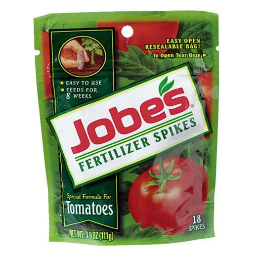 Jobe's 6-18-6 Tomato Fertilizer Spikes (18-Pack)