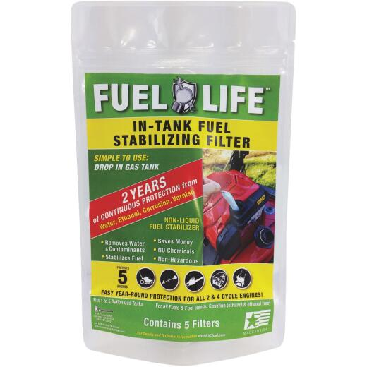 Fuel Life In-Tank Fuel Stabilizing Filter (5 pack)