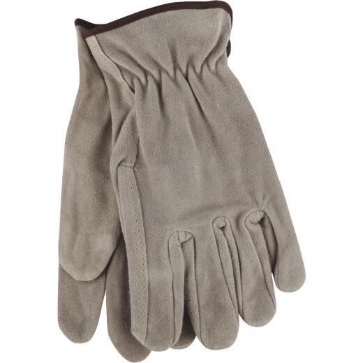 Do it Men's XL Brushed Suede Leather Work Glove