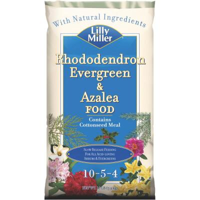 Lilly Miller 16 Lb. 10-5-4 Rhododendron, Evergreen, & Azalea Dry Plant Food