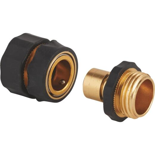 Best Garden 1 Male, 1 Female Metal Quick Connect Connector Set