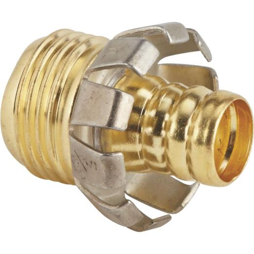 Best Garden 5/8 In. Male Brass Hose Coupling Mender
