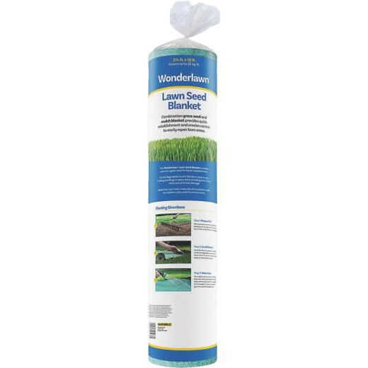 Wonderlawn 25 Sq. Ft. Fescue Mix Lawn Seed Blanket Grass Patch & Repair