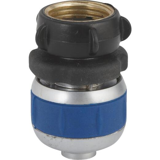 Best Garden 5/8 In. Female Metal Compression Hose End Repair Hose Coupling