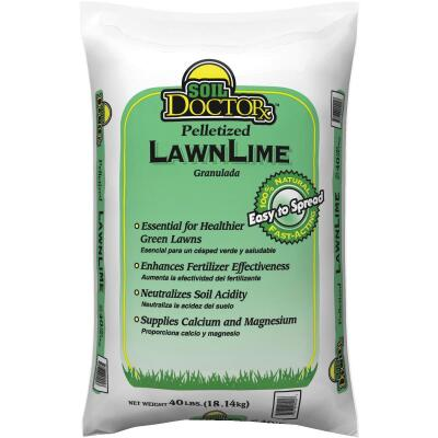 Soil DoctorX 40 Lb. 1000 Sq. Ft. Coverage Pelletized Lawn Lime