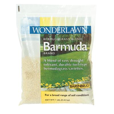Wonderlawn 1 Lb. 225 Sq. Ft. Coverage 100% Bermuda Hulled Bermudagrass Grass Seed