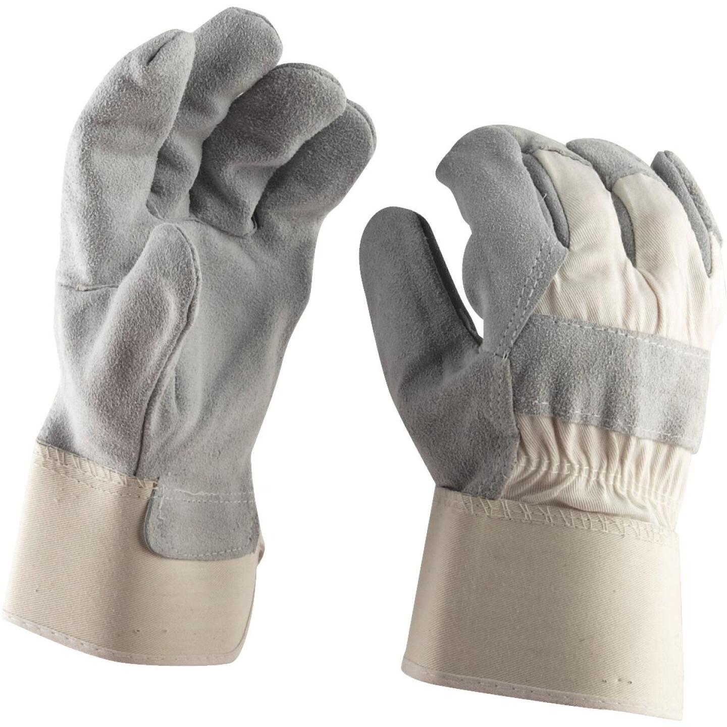 Do it Men's Large Leather Work Glove Image 2