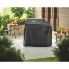Weber Spirit II 51 In. 3-Burner Black Polyester Gas Grill Cover Image 2