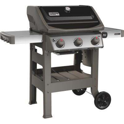 Weber Spirit II E-310 3-Burner Black 30,000-BTU LP Gas Grill