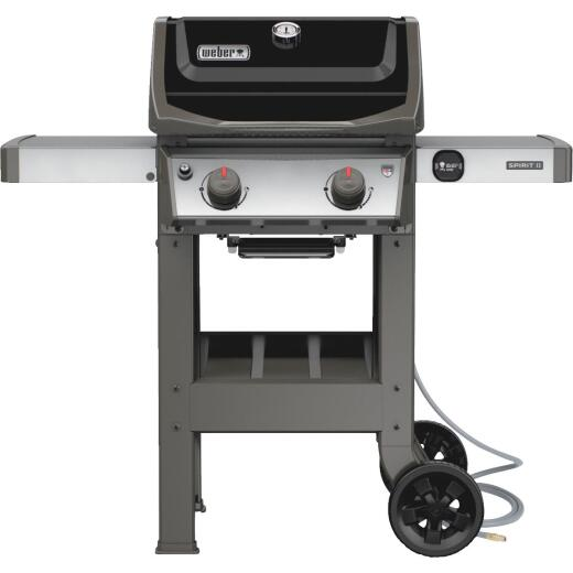 Weber Spirit II E-210 2-Burner Black 26,500-BTU Natural Gas Grill