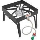 Bayou Classic 55,000 BTU Propane Gas Single Burner Patio Stove Steel Outdoor Cooker Image 1