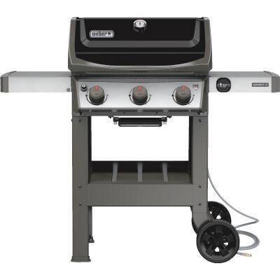 Weber Spirit II E-310 3-Burner Black 30,000-BTU Natural Gas Grill