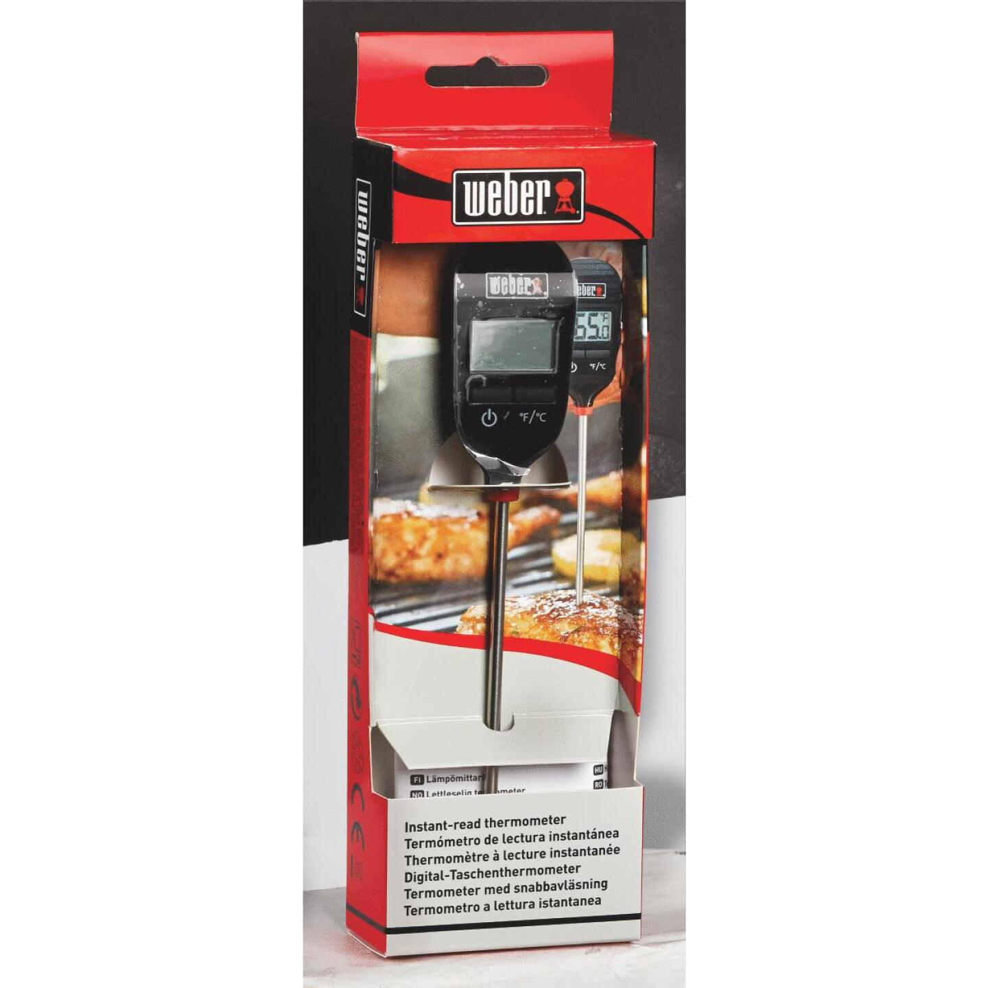Weber Instant Read Digital 8 In. Thermometer Image 3