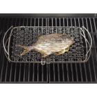 Weber 10 In. W. x 16 In. L. x 2.25 In. D. Large Flexible Wire Fish Grill Basket Image 2