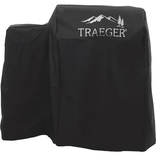 Traeger 20 Series 39 In. Black Polyester Full-Length Grill Cover