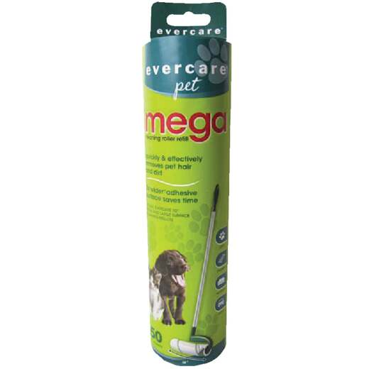 Evercare Pet 10 In. Mega Refill Roll Pet Hair Remover