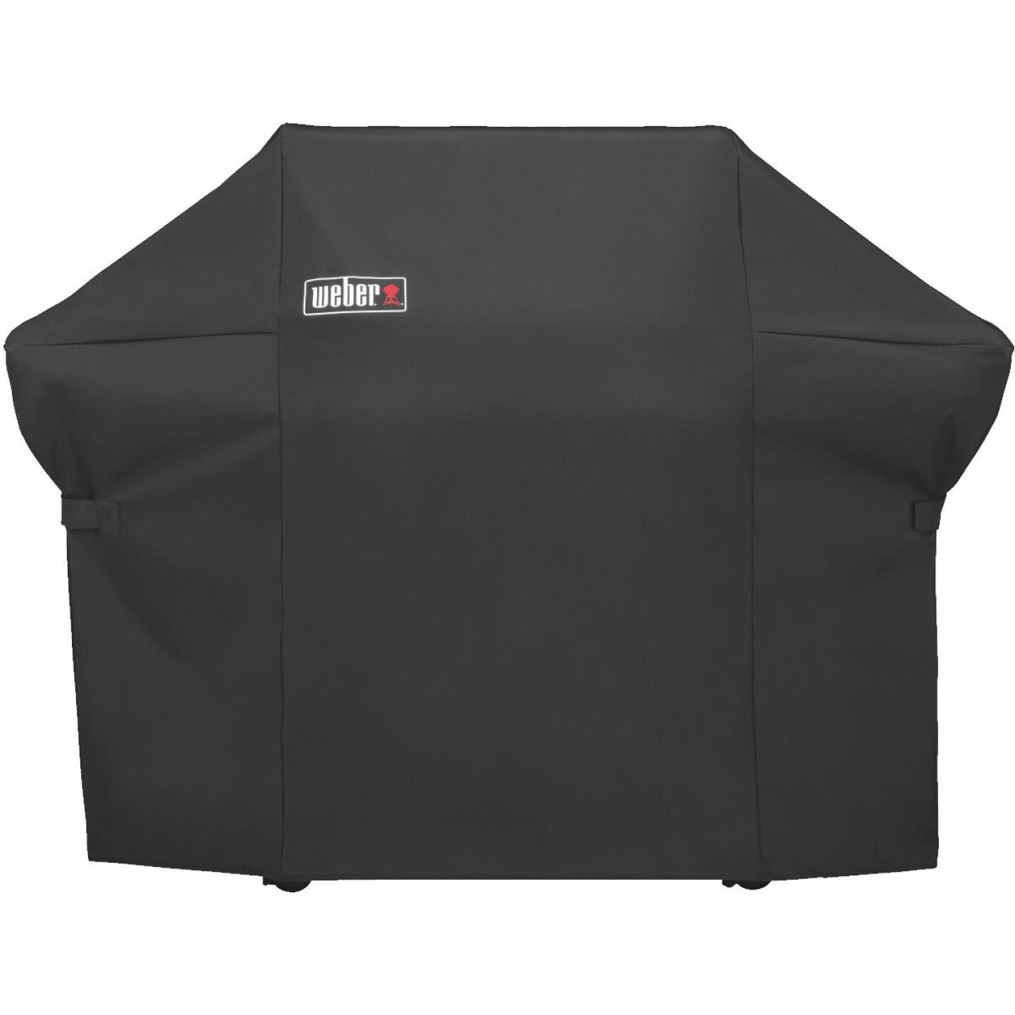Weber Summit 400S Premium 67 In. Black Polyester Grill Cover Image 2