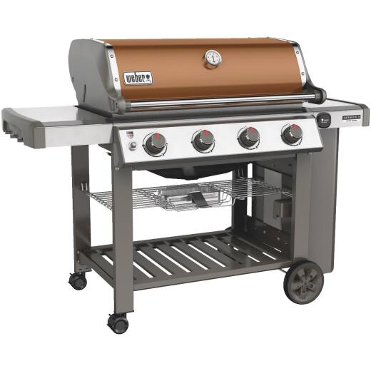 Weber Genesis II SE-410 4-Burner Copper 48,000-BTU LP Gas Grill
