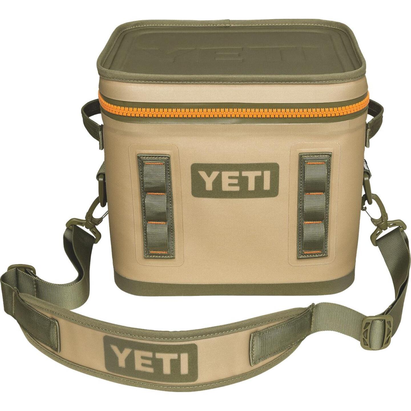 Yeti Hopper Flip 12, 13-Can Soft-Side Cooler, Tan Image 1