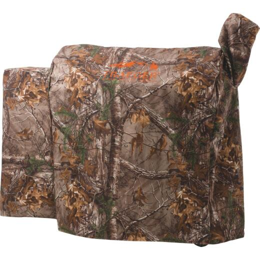 Traeger RealTree 34 Series 49 In. Camo PVC Full-Length Grill Cover